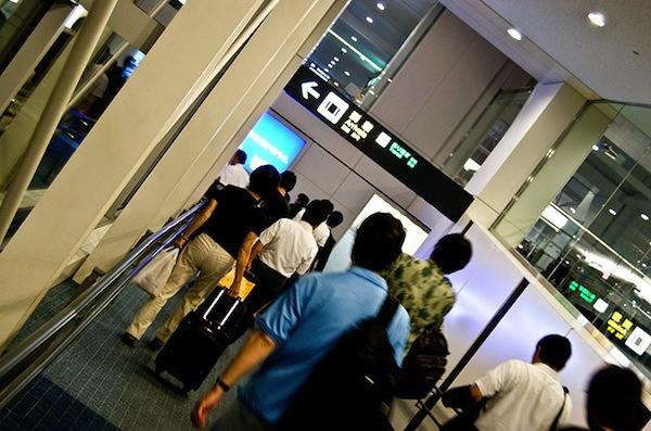 Thủ tục kiểm tra khi nhập cảnh vào Nhật Bản