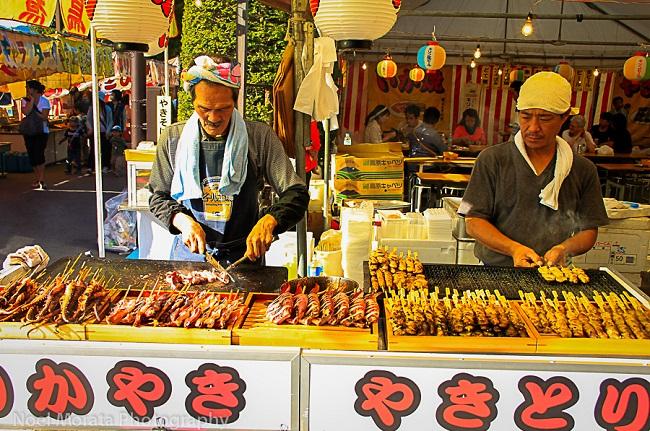 Ẩm thực đường phố - nét độc đáo của văn hóa ẩm thực ở Nhật Bản