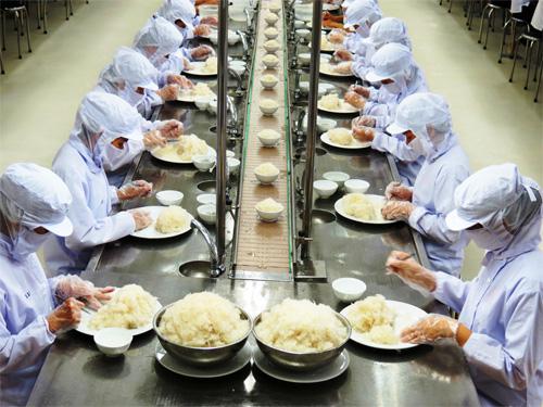 Làm cơm hộp- công việc làm thêm của du học sinh Việt Nam tại Nhật Bản