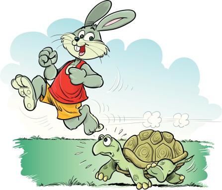 Học tiếng nhật qua truyện cổ tích Rùa và Thỏ phiên bản tiếng nhật