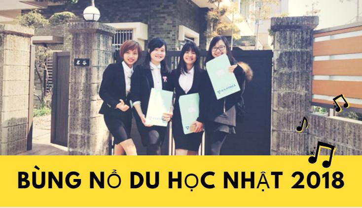 """Năm 2018 Giới trẻ Việt sẽ """"Bùng Nổ"""" du học Nhật Bản hết vì sao?"""