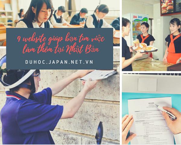 9 website giúp bạn tìm việc làm thêm tại Nhật Bản