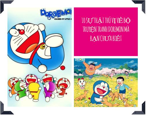 10 sự thật thú vị về bộ truyện tranh Doremon mà bạn chưa biết